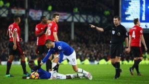 Ман Юнайтед отново изпусна трите точки (видео)