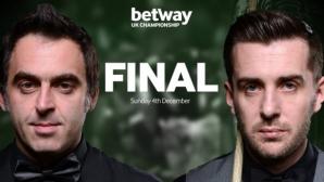 Предаде ли сe Рони О'Съливан още в първата сесия на финала?