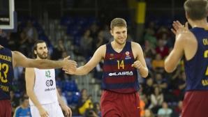Барселона и Везенков с драматична победа в Испания
