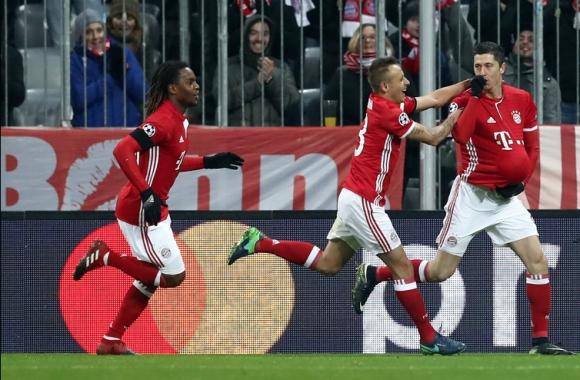 Байерн спря перфектната серия на Атлетико в ШЛ (видео)