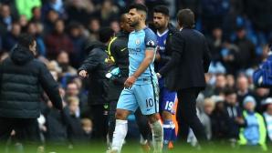 Агуеро наказан за четири мача