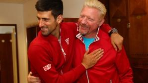 Бекер проговори за бъдещето си с Джокович