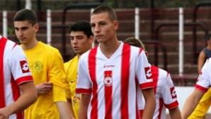 Валентин Антов: Мечтая да нося капитанската лента на ЦСКА в дербито срещу Левски