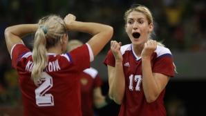 Олимпийският шампион Русия стартира с победа на европейското по хандбал