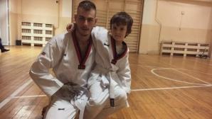 Михаил Христов смени атлетиката с таекуондо