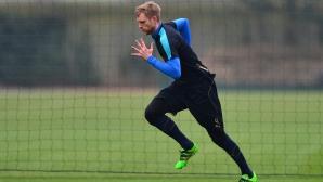 Капитанът на Арсенал си постави срок за завръщане