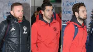Манчестър Юнайтед замина за Украйна с всичките си звезди