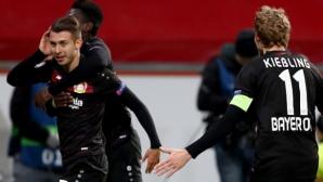 Леверкузен разби Монако в мач без значение (видео)