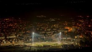 Стадионът в Горна Оряховица готов да посрещне ЦСКА-София (снимки)