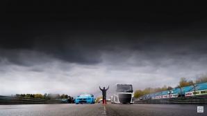Volvo Iron Knight, най-бързият камион в света, прие ново предизвикателство (Видео)