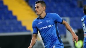 Георги Костадинов: Бъдещето ми е в Левски, искам да станем шампиони (видео)
