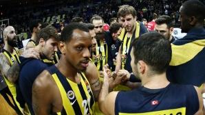Йордан Минчев игра при победа на Фенербахче в Евролигата (видео)