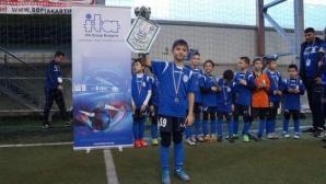 За втора поредна година международен коледен турнир за деца в София