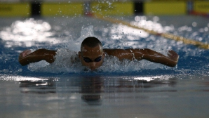 Антъни Иванов отпадна още в сериите на 50 метра бътерфлай на Световното