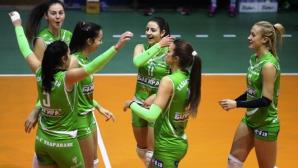 Казанлък спечели дербито срещу Славия в женското първенство (галерия)