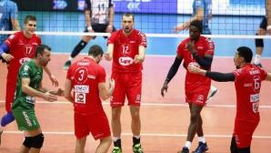 Виктор Йосифов с 12 точки, Пиаченца започна с победа за Купата на CEV