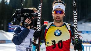 Пета победа за Мартен Фуркад в Световната купа по биатлон през този сезон