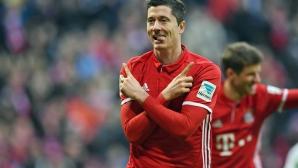 Байерн - Волфсбург 0:0, гледайте тук!
