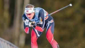 Норвежки доминираха на 15 км ски-бягане при жените