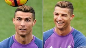 "Кристиано се изруси преди да вземе ""Златната топка"" (снимки)"