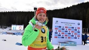 Лаура Далмайер взе нова победа в Поклюка
