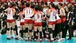 Еми Николова и НЕК Ред Рокетс с 4-а поредна победа в Япония