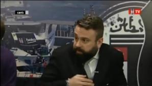 Ужасът от Истанбул се усети на в ефира на телевизия на Бешикташ (видео)