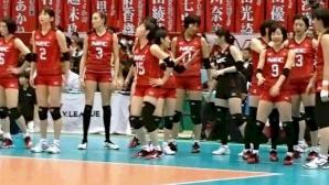 Еми Николова и НЕК Ред Рокетс с нова победа в Япония