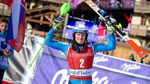 Хенрик Кристоферсен спечели слалома от Световната купа