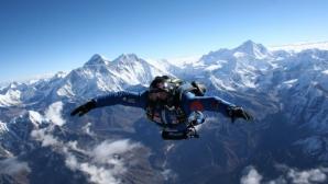 Скайдайвинг над Еверест