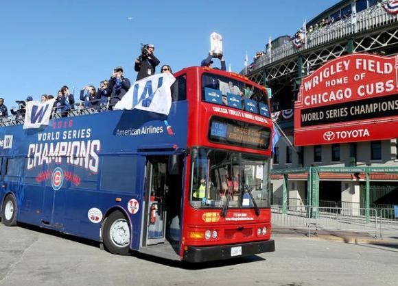 Титлата на Чикаго Къбс е спортна новина №1 на годината