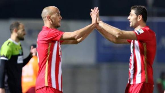 Димитър Макриев с гол при победа на Неа Саламина