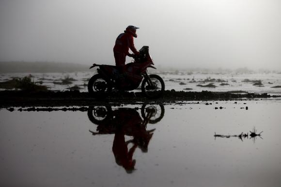 Деветият етап на рали Дакар също бе отменен