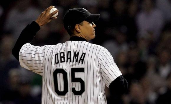 Обама приема Чикаго Къбс в Белия дом на изпроводяк