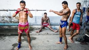 Как затворници в Тайланд стават свободни мъже чрез муай тай турнири