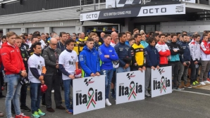 MotoGP събра 12 хил. евро за пострадалите от земетресенията в Италия
