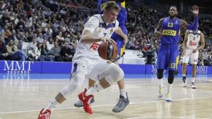 Дончич е MVP на кръга в Евролигата
