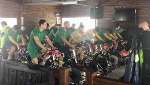 Победител в обиколката на България проведе тренировка на Добруджа
