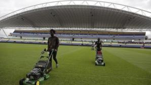 Футболистите на Конго бойкотираха тренировка заради неизплатени премии