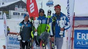 Алберт Попов с първа победа през сезона