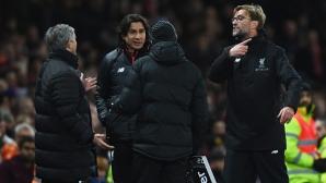 Здравата битка между Юнайтед и Ливърпул зарадва Челси и Тотнъм (видео)