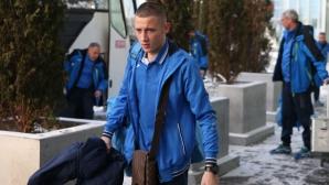 Синът на Боримиров напусна лагера на Левски в Кипър