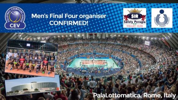 Рим приема финалите на Шампионската лига