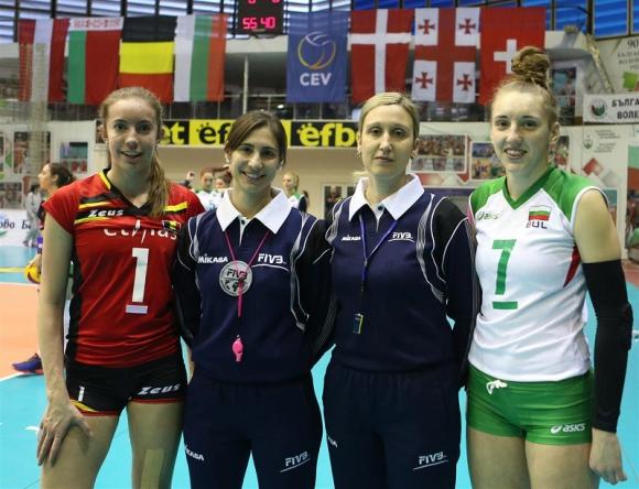 CEV със специален материал за българска волейболистка