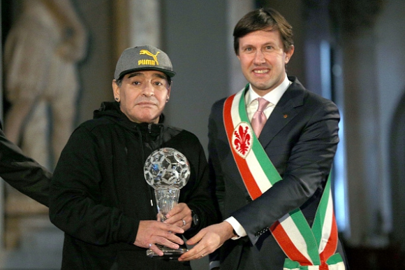 Диего Марадона и още легенди влязоха в италианската зала на славата
