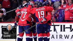 Вашингтон оглави класирането в НХЛ след девета поредна победа