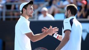 Чилич с обрат от 0:2 срещу Янович, 17-годишен с победа на Australian Open