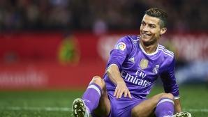 Кристиано се измъкна без картон, след като хвърли топка към Витоло (видео)