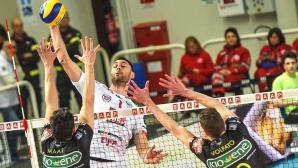 Силен Цветан Соколов, Лубе записа победа №17 в Италия