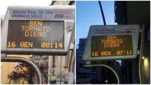 На всяка спирка в Неапол: Добре дошъл отново, Диего!